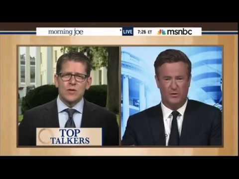 Joe Scarborough slams Jay Carney on IRS scandal. July 24, 2013