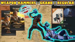 Shadow Fight 3 HAMMERS: Defeat Dragon Mentor | Regular + Grand √