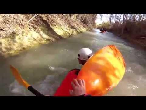 caidas con kayak