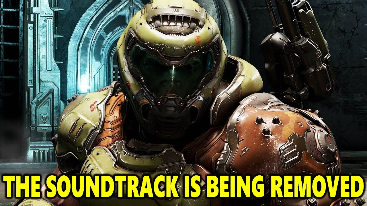 The Doom Eternal Soundtrack Has Been Removed From Youtube...