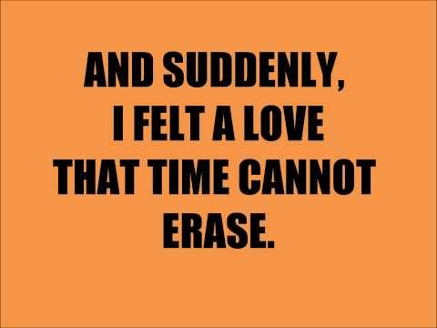 In Love With You- First Date (lyrics)