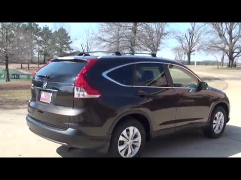 HD VIDEO 2013 HONDA CRV EXL LEATHER SUNROOF USED FOR SALE INFO SEE WWW SUNSETMOTORS COM