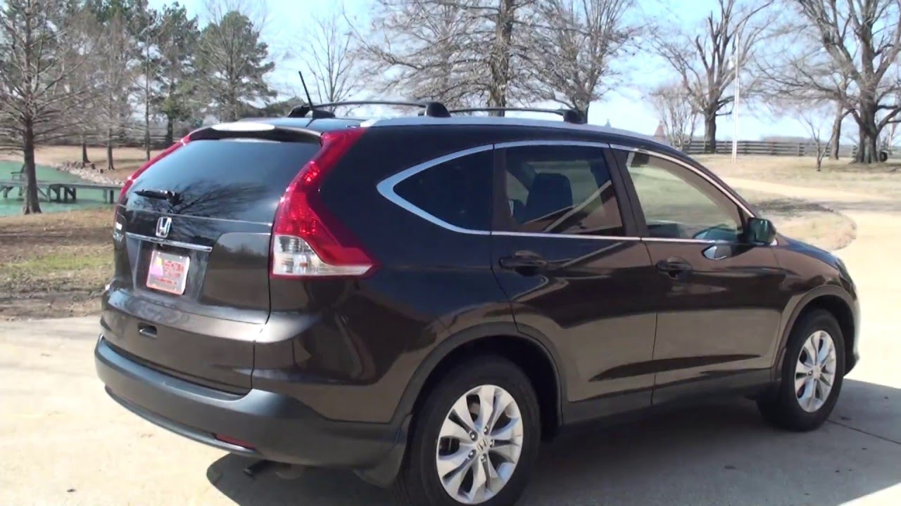 HD VIDEO 2013 HONDA CRV EXL LEATHER SUNROOF USED FOR SALE INFO SEE WWW SUNSETMOTORS COM - YouTube