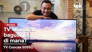 Review Smart TV Coocaa 50S5G