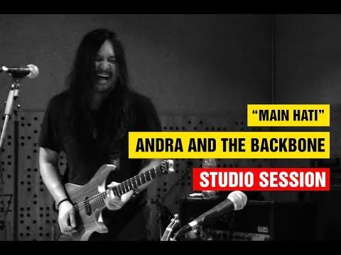 Main Hati - Andra And The Backbone (Rehearsal) (Live) (HD)