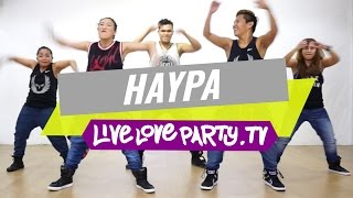 Haypa by MMJ | Zumba® | Dance Fitness | Live Love Party(Zumba Fitness with Madelle, Mark, Che, Jemie & Marlex If you liked this video, don't forget to give it a thumbs up and subscribe to our channel: ..., 2015-10-26T14:31:18.000Z)