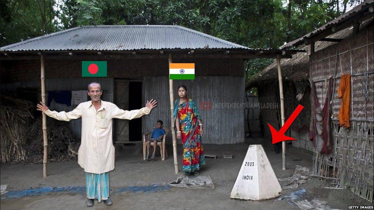 India Bangladesh Strange Border! Enclaves   এ কেমন বর্ডার 😯