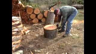 Splitting Firewood Akkamaan
