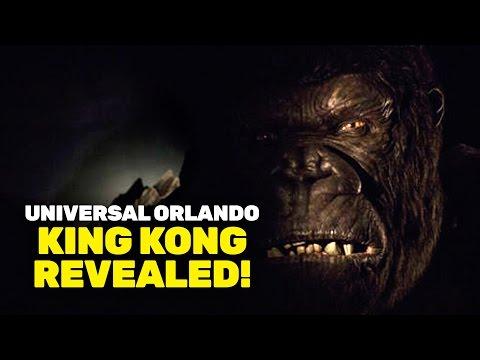 NEW King Kong animatronic figure revealed at Universal Orlando!