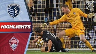 Sporting Kansas City vs. Colorado Rapids | VAR! Red card! Stunning bicycle kick! | HIGHLIGHTS