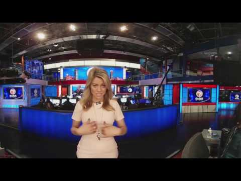 360 Tour of the new 7News newsroom with Jadiann Thompson