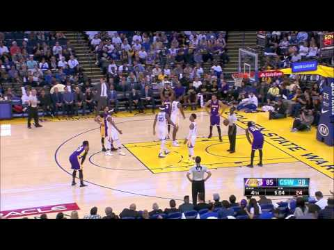 James Michael McAdoo vs Los Angeles Lakers 12.04.2017 (8Pts)