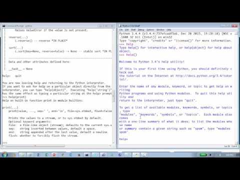 Introduction to Python for PL/SQL Developers  [Part 1]