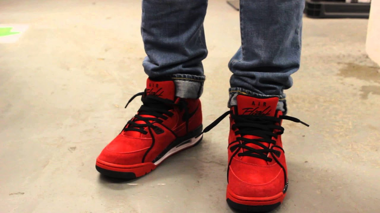 "outlet store 2e9fb 3665c Nike Air Flight 89  ""Toro"" On-feet Video at Exclucity"