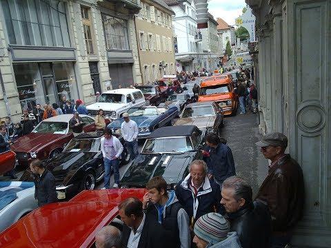 100 Jahre Chevrolet - La Chaux de Fonds - Parade