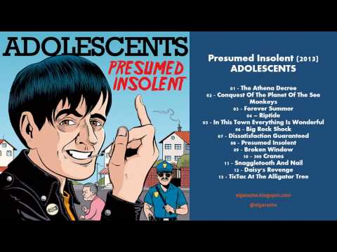 Adolescents - Presumed Insolent (2013) Full