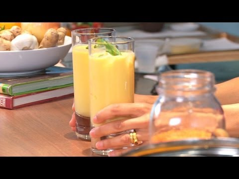 How to Make a Mango Lassi | Indian Food
