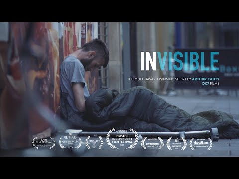 Invisible   a Portrait of Bristol's Homeless   a short Documentary by Arthur Cauty