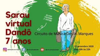 Dandô 7 Anos - Sarau Virtual do Dandô