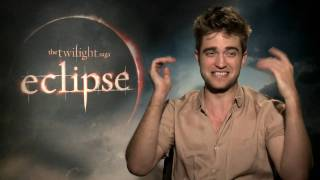 New Twilight Eclipse Interview HD: Rob Pattinson talks sex and Kristen Stewart