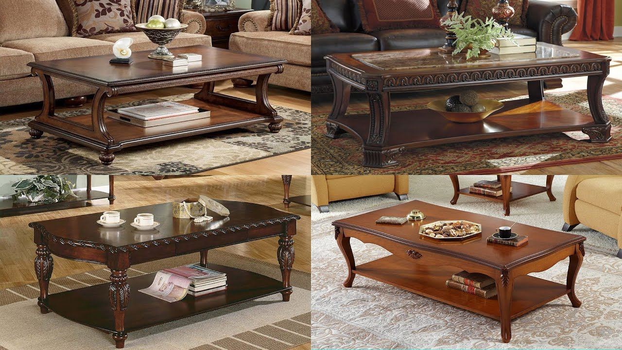 110 Wooden Sofa Table Beautiful Center Coffee Table Youtube