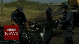 BBC reporter given Ukraine crash victim