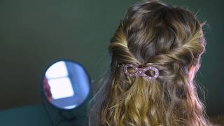How to make a 'Twisted hairstyle' by Søstrene Grene