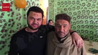 بالفيديو والصور - زغاريد الفرحة تنطلق من منزل طالب كفر الشيخ المفرج عنه