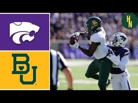 Baylor Vs Kansas State | Week 6 | College Football Highlights | 2019