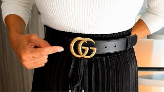 GUCCI BELT UNBOXING ACCESSORY LOVERS