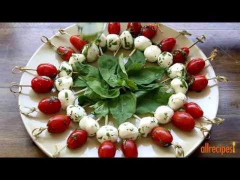 How to Make Caprese Appetizer | Appetizer Recipes | Allrecipes.com