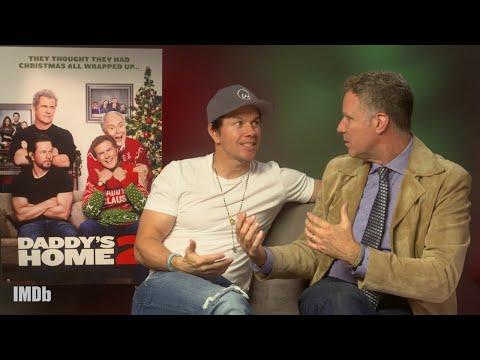 Mark Wahlberg and Will Ferrell Talk Daddy