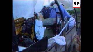 Bosnia - Alleged Attack On Refugees Aftermath