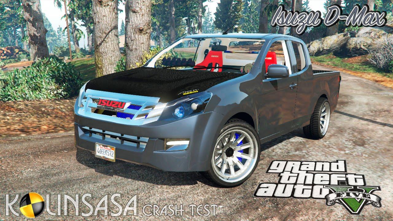 Gta 5 Crash Test Isuzu D Max