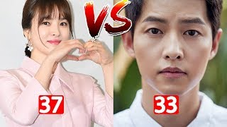 Song Joong Ki Vs Song Hye Kyo Couple Transformation From 1 To 37 Years Old