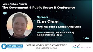 Dan Chen - Learning Tidy Evaluation by Reimplementing dplyr