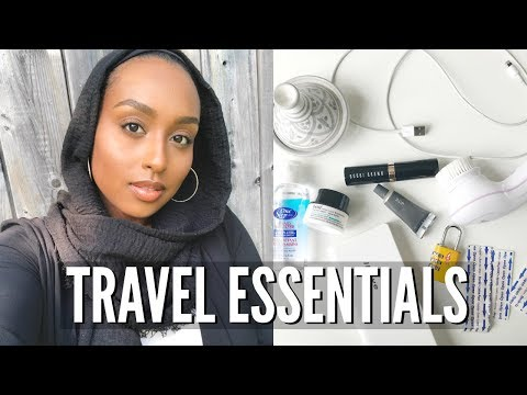 THINGS YOU NEED WHEN TRAVELING! | My Travel Essentials | Aysha Abdul