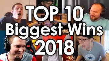 Top 10 - Biggest Wins of 2018