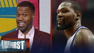 Stephen Jackson on why Warriors will vanquish Rockets to win the West | NBA | FIRST THINGS FIRST