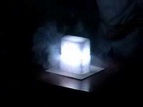 Magnesium In Dry Ice