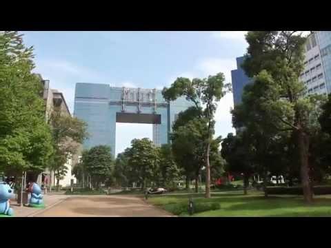 Aqua City, Fuji TV, Gundam, Telecom Center in Odaiba, Tokyo (アクアシティお台場、フジテレビ、ガンダム、テレコムセンター)