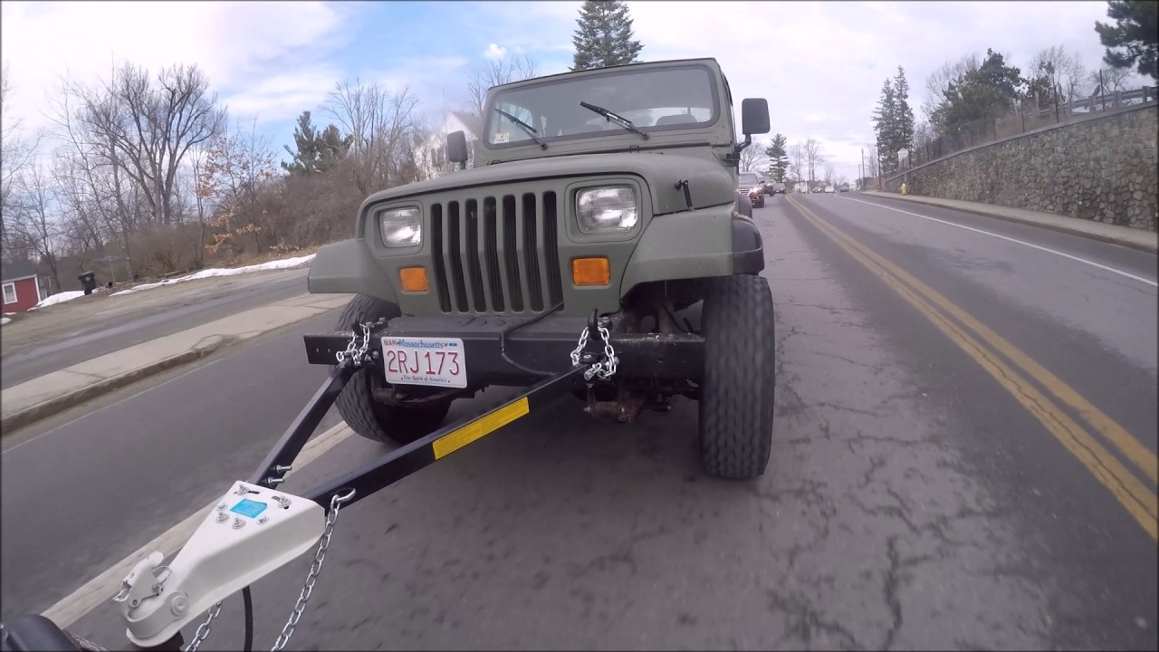 hight resolution of yj flat tow