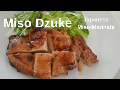 How To Make★Miso Dzuke★Japanese Miso Marinade Fish, Chicken And Pork~100th Video Give Away!