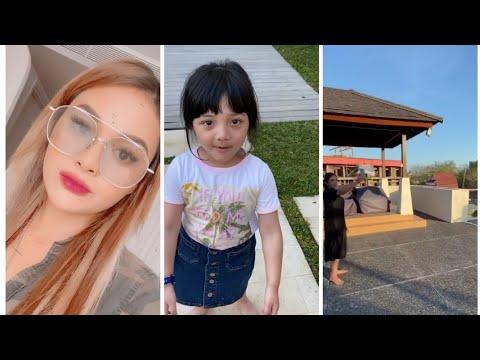 Aurel Hermansyah di Bali ke Rumah Baru