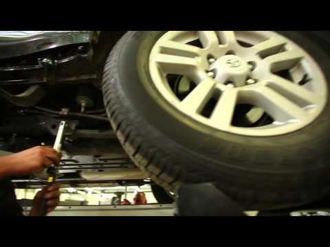 Кузовной ремонт у Официального дилера Тойота
