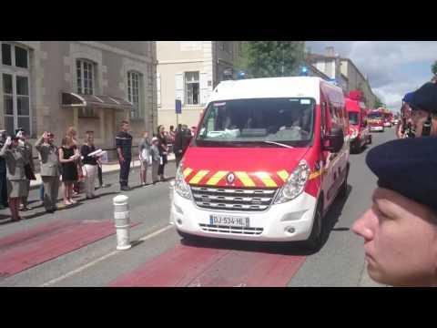 Défilé du 14 juillet 2016 à Auch