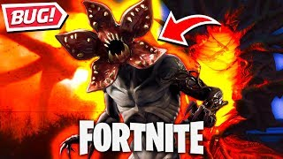 NEW BUG FROM STRANGER THINGS PORTAL à FORTNITE