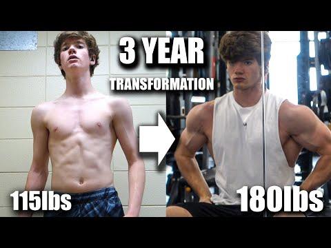 3 YEAR NATURAL TRANSFORMATION | Max Strazny