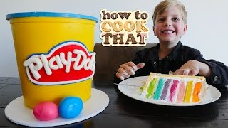 PLAY DOH CAKE VIDEO How To Cook That Ann Reardon YouTube