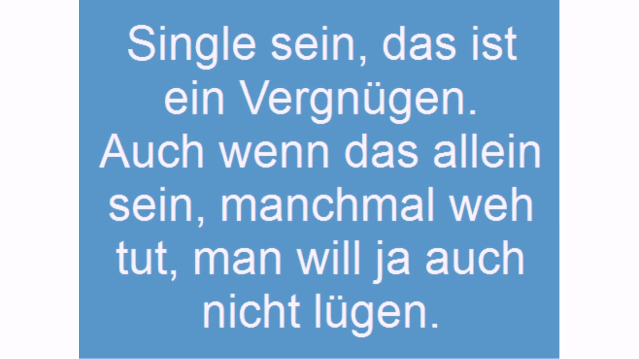 Single Sprüche